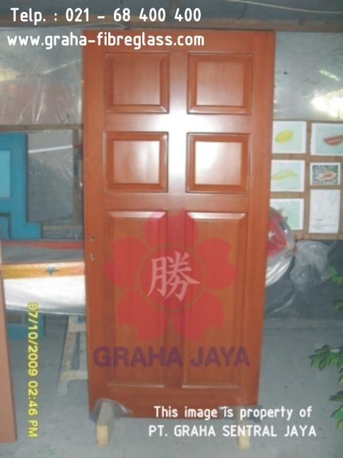 Daun Pintu Fibreglass / Pintu Utama & Kusen Pintu