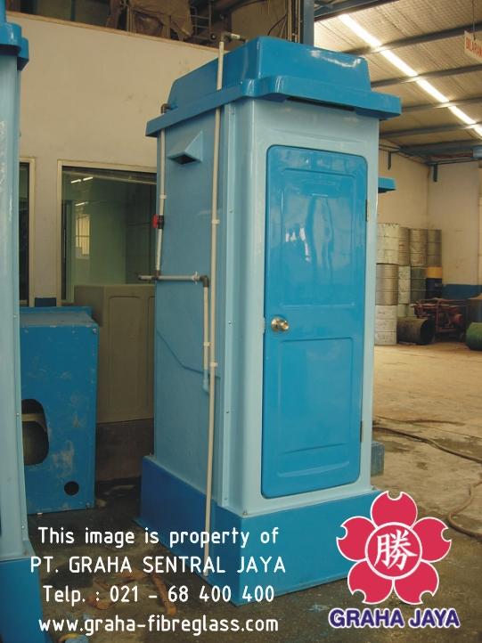 Toilet Portable Fiberglass Tipe B - Graha Jaya