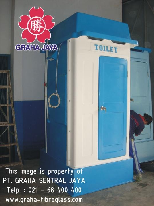 Toilet Portable Fiberglass Tipe A