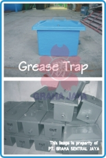 Grease & Oil Trap 47x37x37 cm untuk kitchen sink rumah