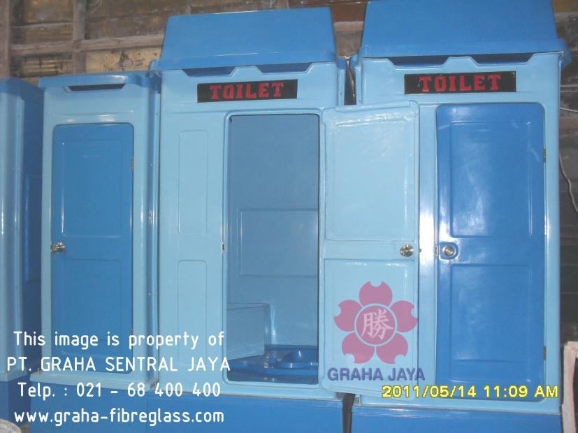Toilet Portable Fiberglass - Graha Jaya