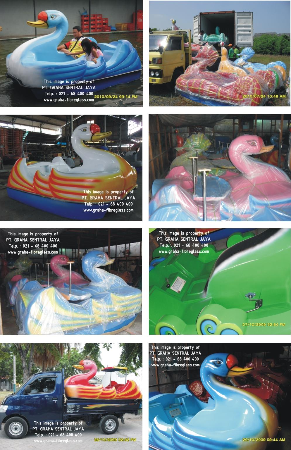 Sepeda Air untuk taman hiburan, rekreasi air & olah raga air