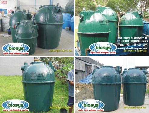 Septic Tank BioSys untuk rumah tinggal / perumahan