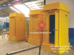 Portable Toilet Fibreglass